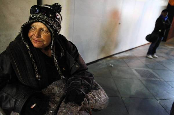 Homeless numbers on the rise